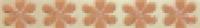 Бордюр Crystal Flor Conchiglia & Mandarino 4,8x32 см
