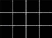 1149 Конфетти черный, полотно 30х40