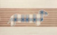 Облицовочная плитка B03/6131 Такса синий 25x40 см