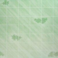 71542 Летняя лилия (Summer Lilly), плитка с зелеными цветами 15х