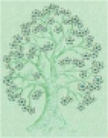 Облицовочная плитка С1611/2117 Гринвич зеленый 20x25 см