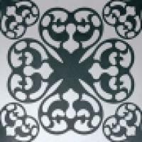 Декор Ode Bianco Nero Inserto 30,5x91,5 см