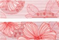 Бордюр C1546/7000 Челси красный 6,3x20 см