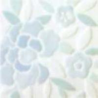 Декор Singola Pizzo голубой 20х20 см