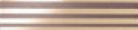 Бордюр Ode Oggi Beige Marrone Listello 9,5x30,5 см