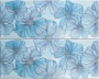 Облицовочная плитка B1457/7000 Челси голубой 20x50 см
