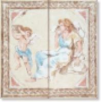 Панно STUCCHI COMPOSIZIONE S/2 AFFRESCO ORIZZONTALE 55х55 см