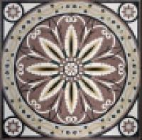 художественная резка керамогранита панно 25