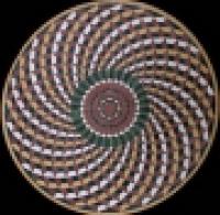 художественная резка керамогранита панно 17