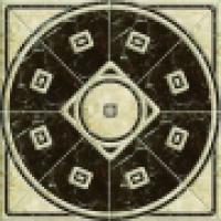 Панно Roseton Luxe 79x79 см