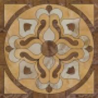 Панно Roseton Ducale Beige Pulido 116,8x116,8 см