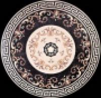 художественная резка керамогранита панно 18