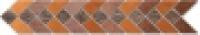 Бордюр 163 Сити мозаичный 9,5x50,2 см