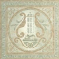 Декор Lira Singolo Green/Almond 48,4x48,4 см