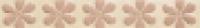 Бордюр Crystal Flor Latte & Rosa 4,8x32 см