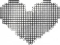 мозаика Fap Cupido Cuore Bianco Mosaico 2 40x53,5 см