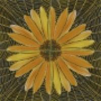 Панно цветы керамический декор HJAM2987-1 60х60 см