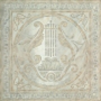 Декор Lira Singolo White/Grey 48,4x48,4 см