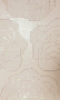 Панно Rose Bianche Mosaico 15 Pezzi 91,5x152,5 см