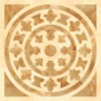 Панно Roseton Damore Beige Pulido 116,8x116,8 см