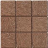 Тротуарная плитка Porfido Rosso Rete 10х10 см