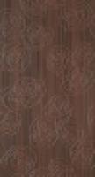 Декор Bloomy коричневый Inserto 30,5x56 см