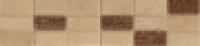 Бордюр Glam Treccia Sand Beige 7,5x30,5 см