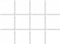1146 Конфетти белый, полотно 30х40