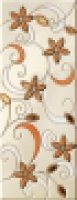Декор Tiffany Flowers Corallo Inserto 20x50,2 см
